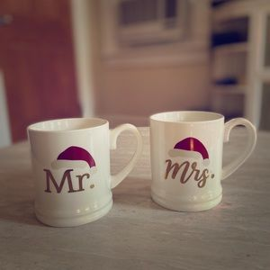 Mr. & Mrs. Christmas Mugs 🎅